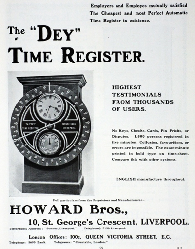 Howard Bros Brochure